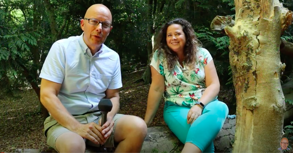 The Bald Explorer and Sonya Dibbin discuss Forest Bathing