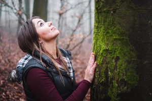 Forest Bathing involves sensory connection to nature